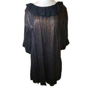 3.1 Phillip Lim Metallic Linen Dress Size Medium